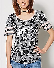 Character Stripe Beauty and the Beast Shirt - Disney