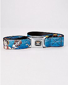 One Piece Seatbelt Belt