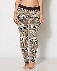 Humping Reindeer Leggings