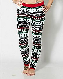 Santa Skull Leggings