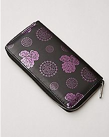 Black Butler Zip Wallet