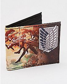 Survey Corps Attack on Titan Bifold Wallet