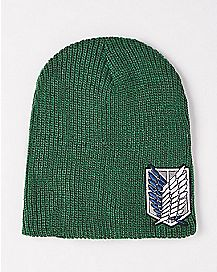 Attack on Titan Green Beanie Hat