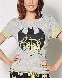 Batgirl Pajama Set - DC Comics