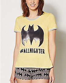 All Nighter Batman Pajamas - DC Comics