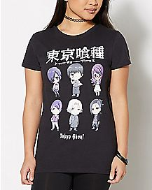 Tokyo Ghoul Character T Shirt - Tokyo Ghoul