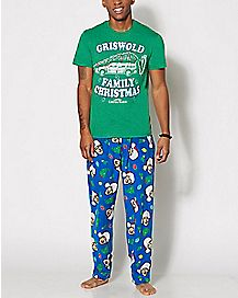 Christmas Vacation Pajama Set