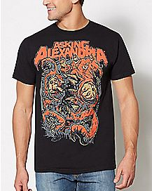 Asking Alexandria Kraken T Shirt