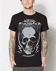 Asking Alexandria Skull Jack T Shirt