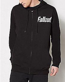 Vault Boy Fallout Zip Up Hoodie