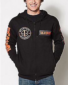 Deadpool Arm Logo Hoodie - Marvel Comics
