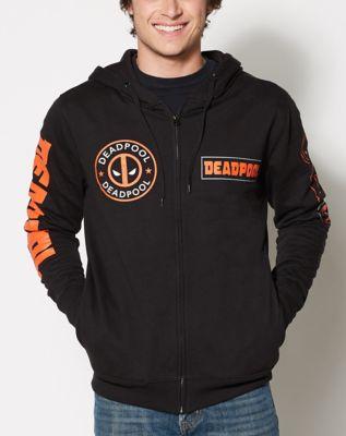 Deadpool Arm Logo Hoodie