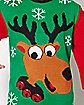 Adult Green Reindeer Ugly Sweater