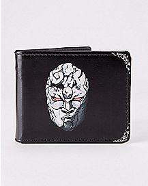 Stone Mask Jojo's Bizarre Adventure Bifold Wallet