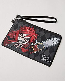 Chainsaw Black Butler Zip Wallet