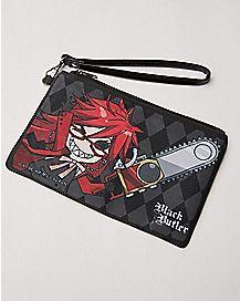 Chainsaw Black Butler Zip Wallet