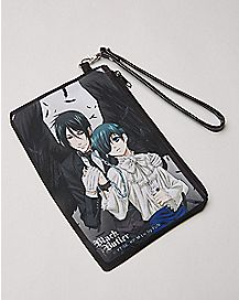 Sebastian and Ciel Black Butler Zip Wallet