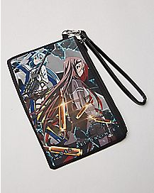 Bullet Sword Art Zip Wallet