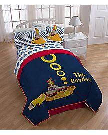 Yellow Submarine The Beatles Comforter - Twin/Full