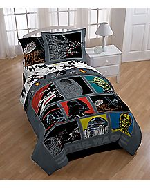 Star Wars Death Star Comforter - Twin/Full