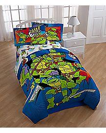 Twin/Full Comforter - TMNT