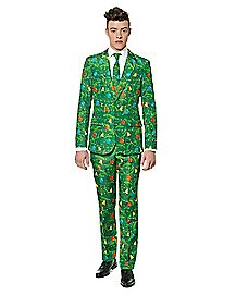 Green Christmas Tree Party Suit