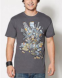 Rocket Guardians of the Galaxy T Shirt