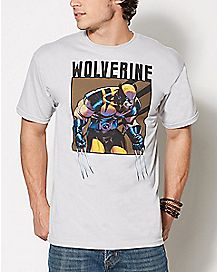 Wolverine T Shirt - Marvel Comics