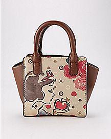 Snow White Mini Crossbody Bag