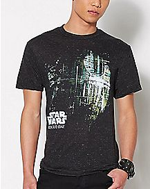 Death Star Rogue One Star Wars T Shirt
