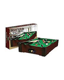 Table Top Pool Table Game