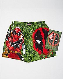 Deadpool Green Boxer Briefs - Marvel Comics