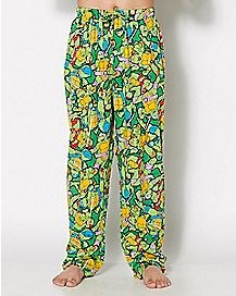 All Over Print Lounge Pants - TMNT