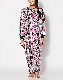 Minnie Mouse One-Piece Pajamas