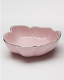 Pink Flower Trinket Tray