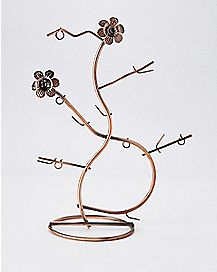 Flower Jewelry Tree