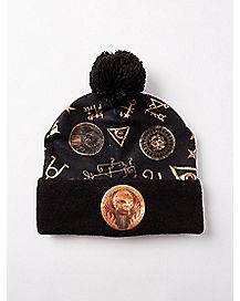 Sublimated MACUSA Fantastic Beasts And Where To Find Them Pom Beanie Hat