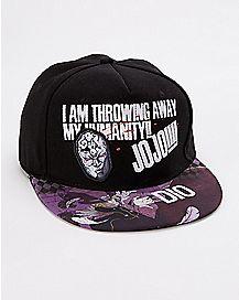 Dio Brando Jojo's Bizarre Adventure Snapback Hat