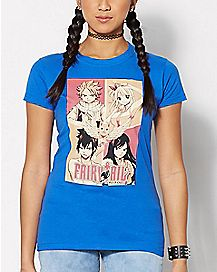 Group Fairytail T Shirt - Fairytail