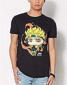 Dio Jojo's Bizarre Adventure T Shirt
