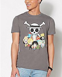 Group One Piece T Shirt