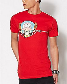 Zipper Chopper One Piece T Shirt