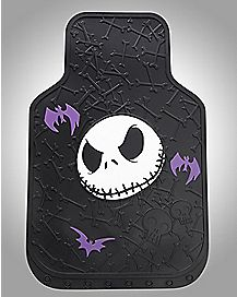 Jack Face Nightmare Before Christmas Floor Mat