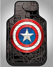 Captain America Floor Mat