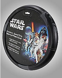 Darth Vader Star Wars Steering Wheel Cover