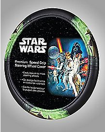 Yoda Star Wars Steering Wheel Cover