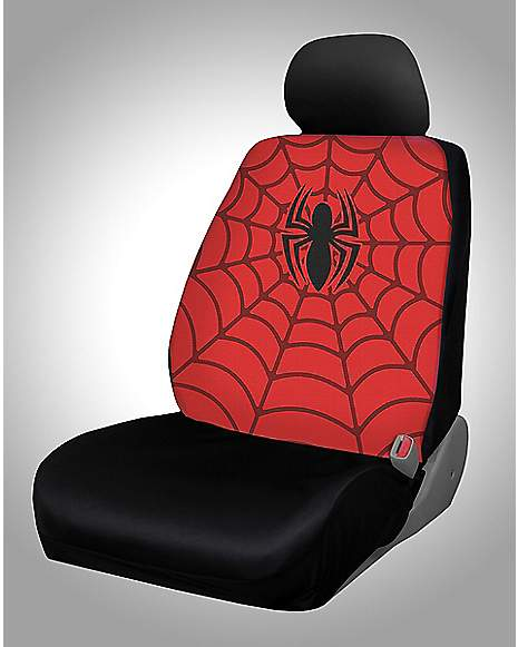 spider man car seat cover marvel comics spencer 39 s. Black Bedroom Furniture Sets. Home Design Ideas