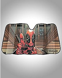 Deadpool Thumbs Up Sun Shade - Marvel Comics