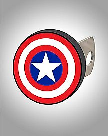 Captain America Shield Hitch Cover - Marvel Comics