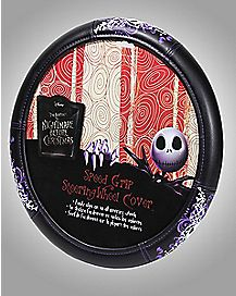 Jack Nightmare Before Christmas Steering Wheel Cover
